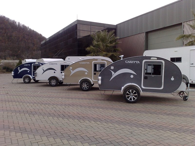 Mini Caravane D Occasion Voyager En Solo